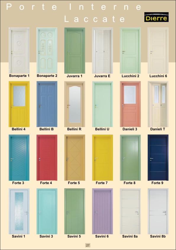 27 porte interne laccate - Colori per porte interne ...